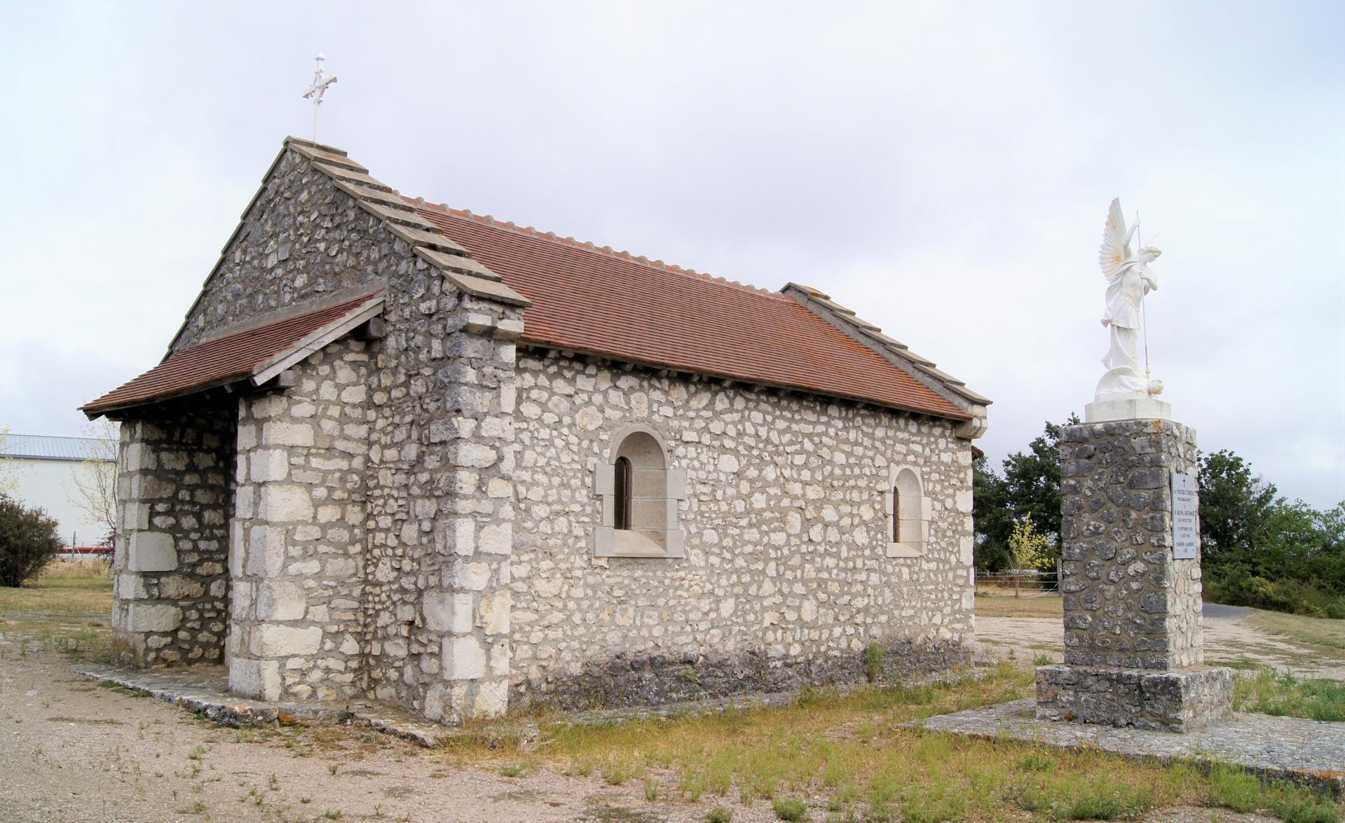 Chapelle sur les chemins d'Ebreuil