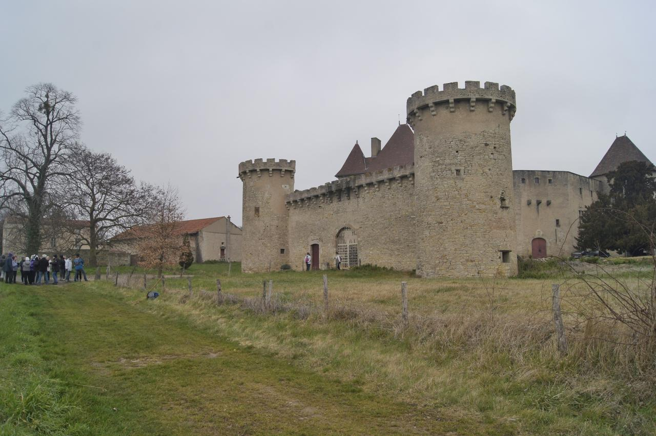 Chateau de la roche a Chaptuzat