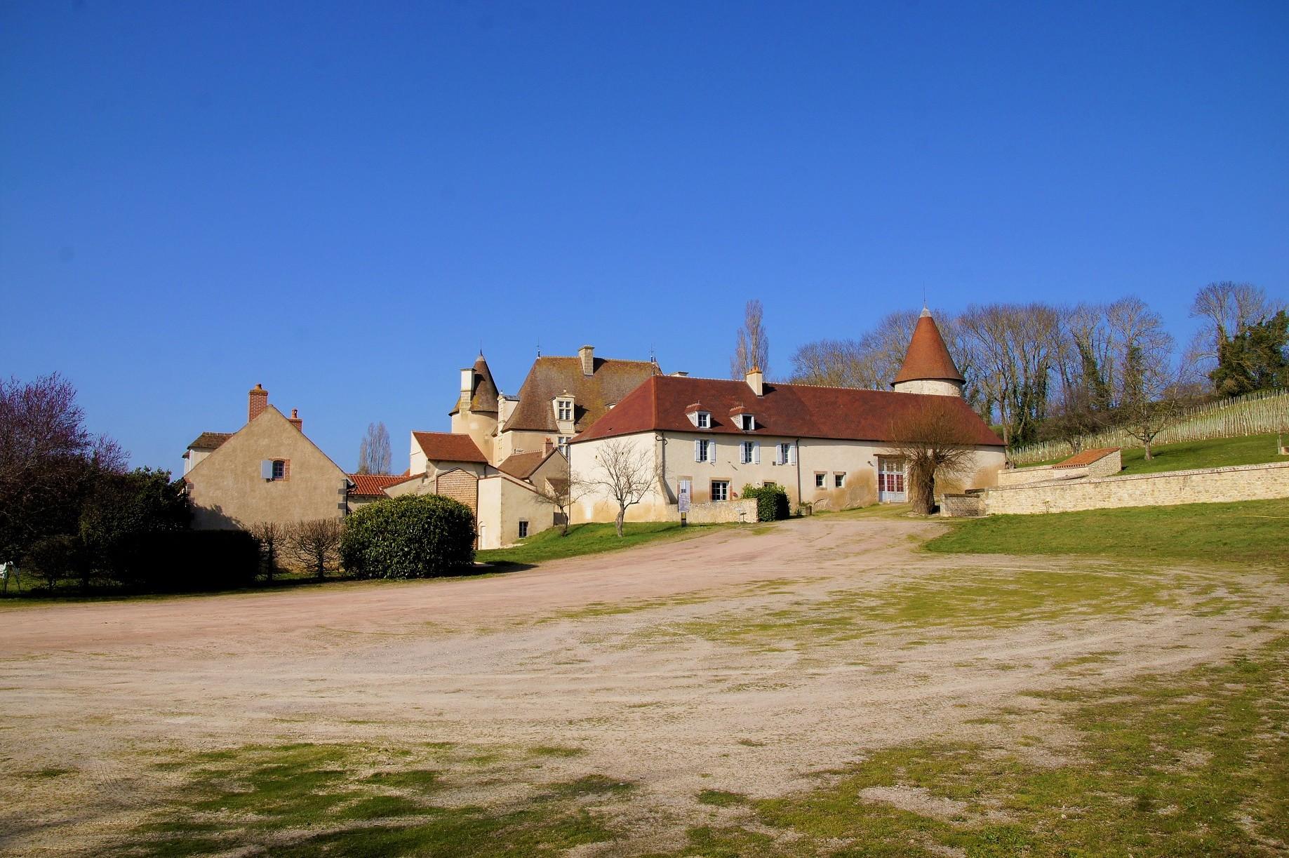 Chateau du bas Chareil Cintrat