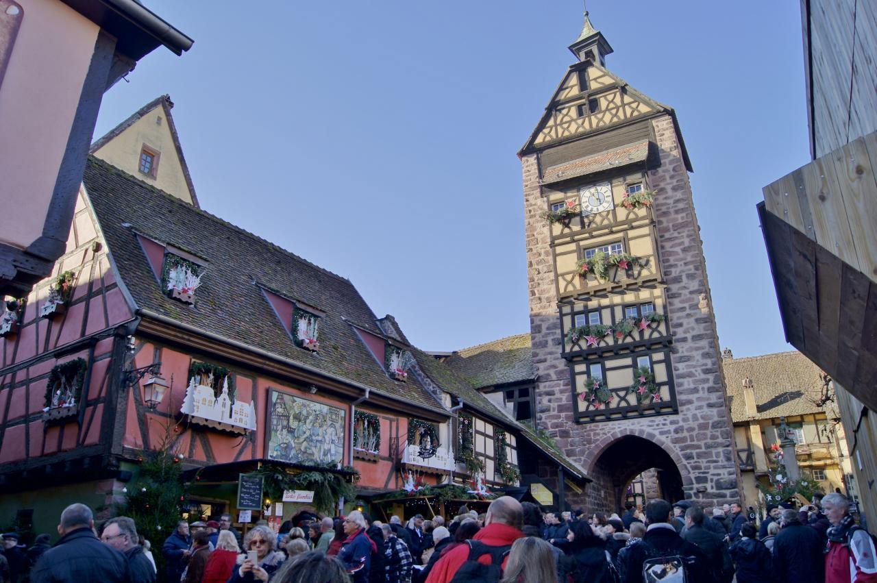 Marche de noel a Riquewihr