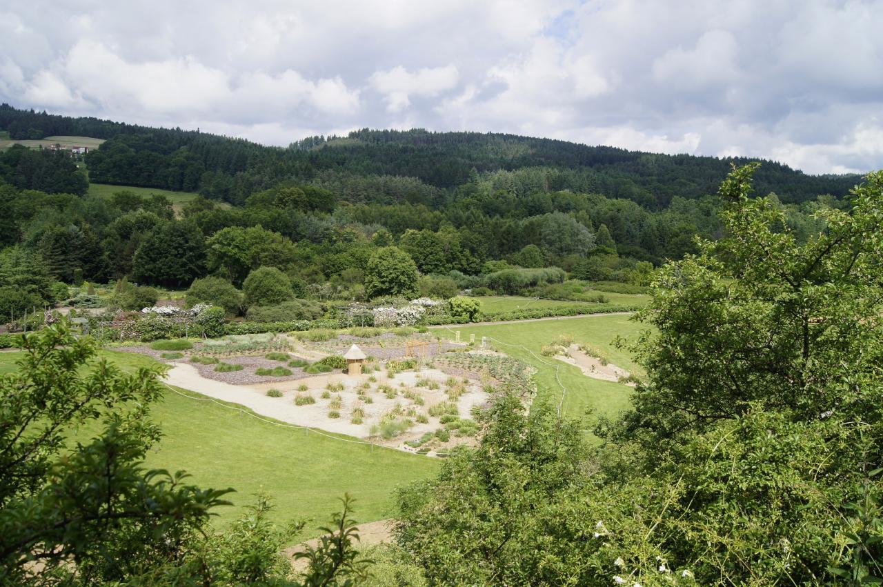 Jardin de  la terre d'Arlanc(3)