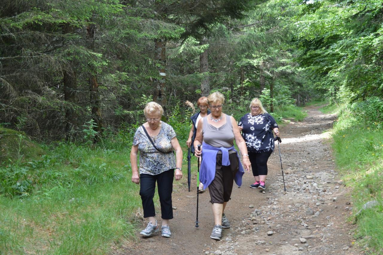 Marcheurs au lac pavin2