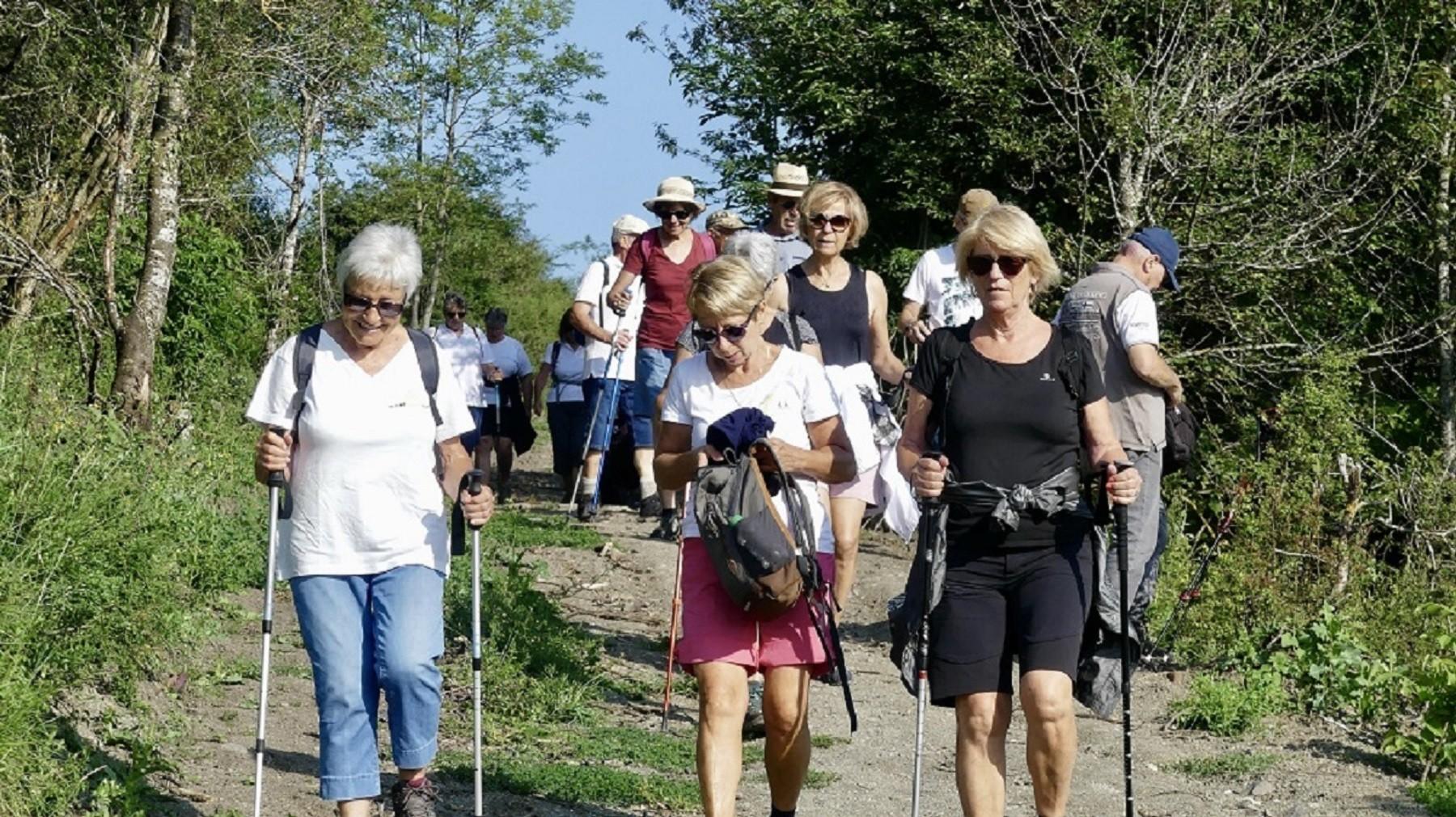 Marcheurs1 à Gergovie