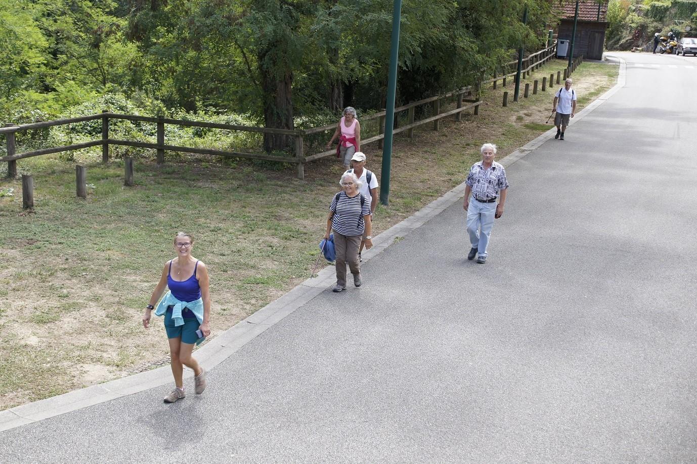 Marcheurs2 à Chouvigny