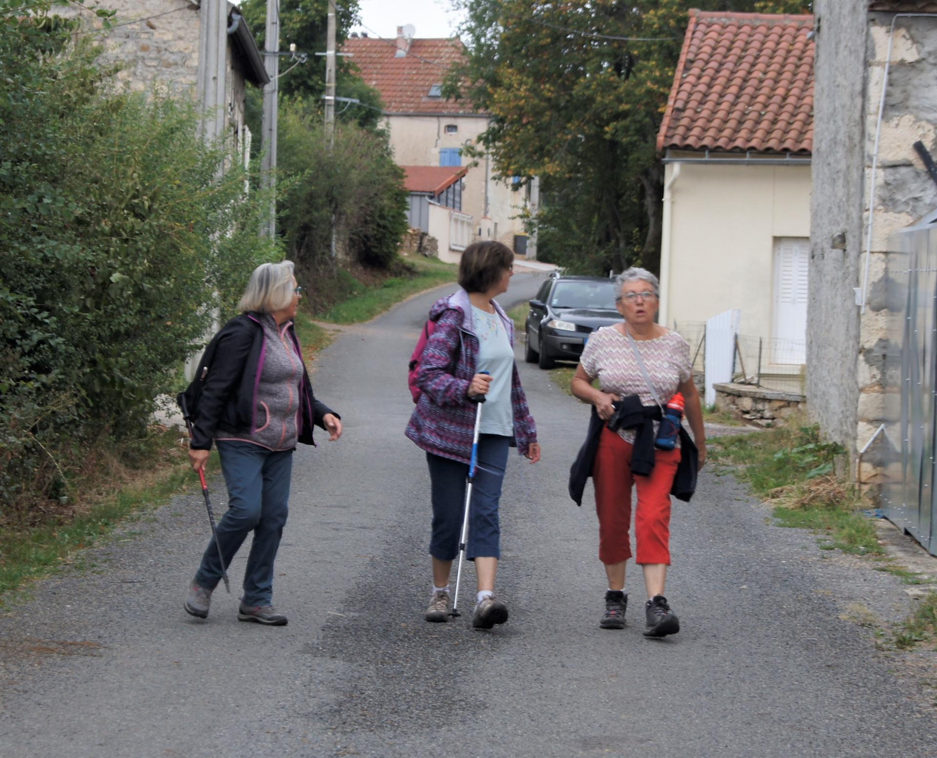 Marcheuses à Ebreuil