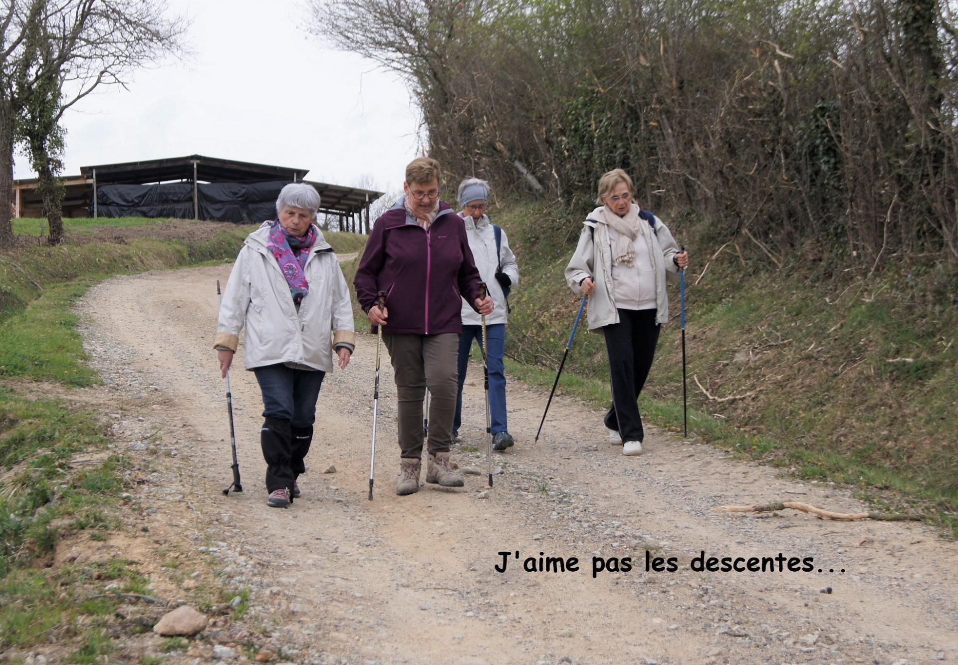 Marcheuses aux Garniers