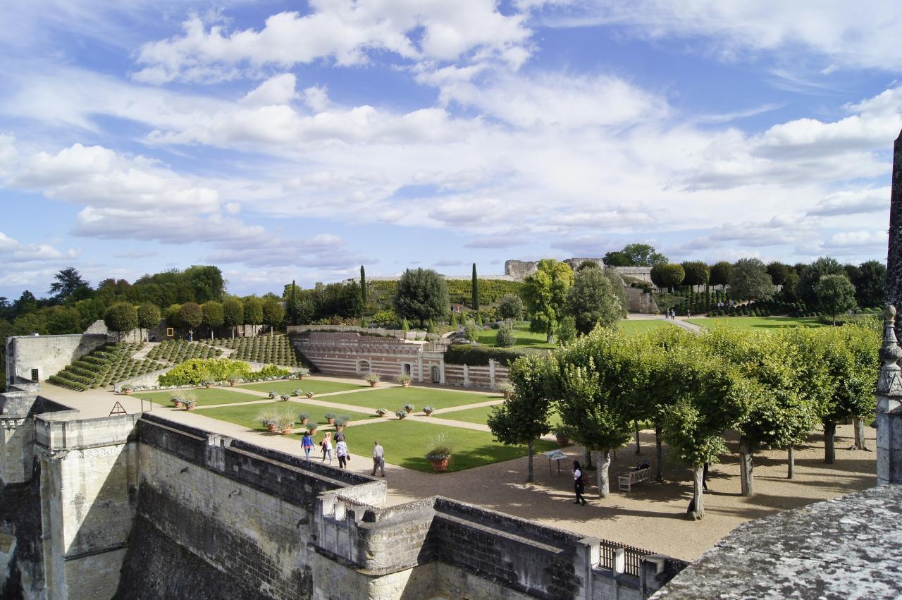 Parc du chateau d'Amboise