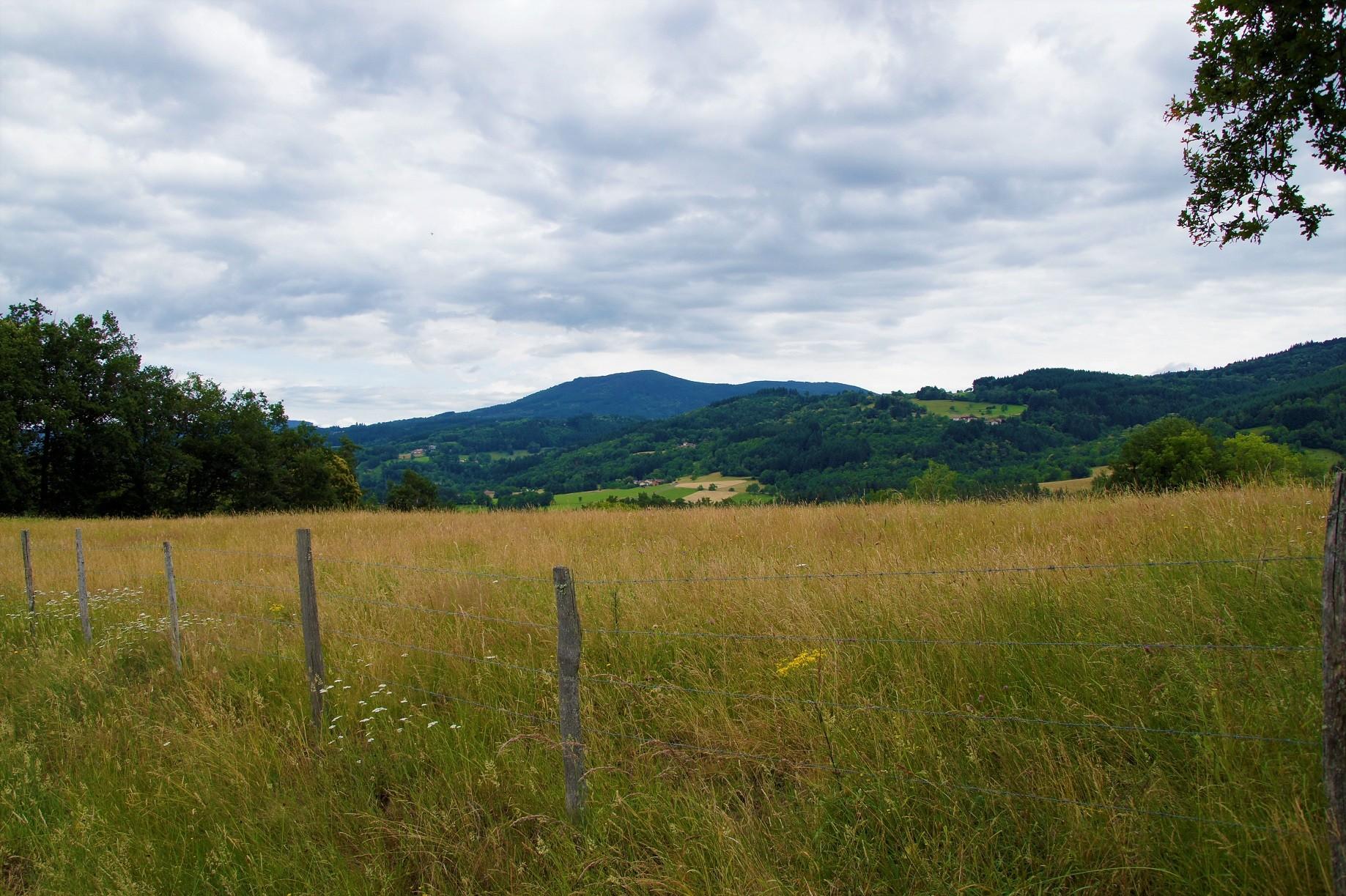 Paysage à Aubusson d'Auvergne1