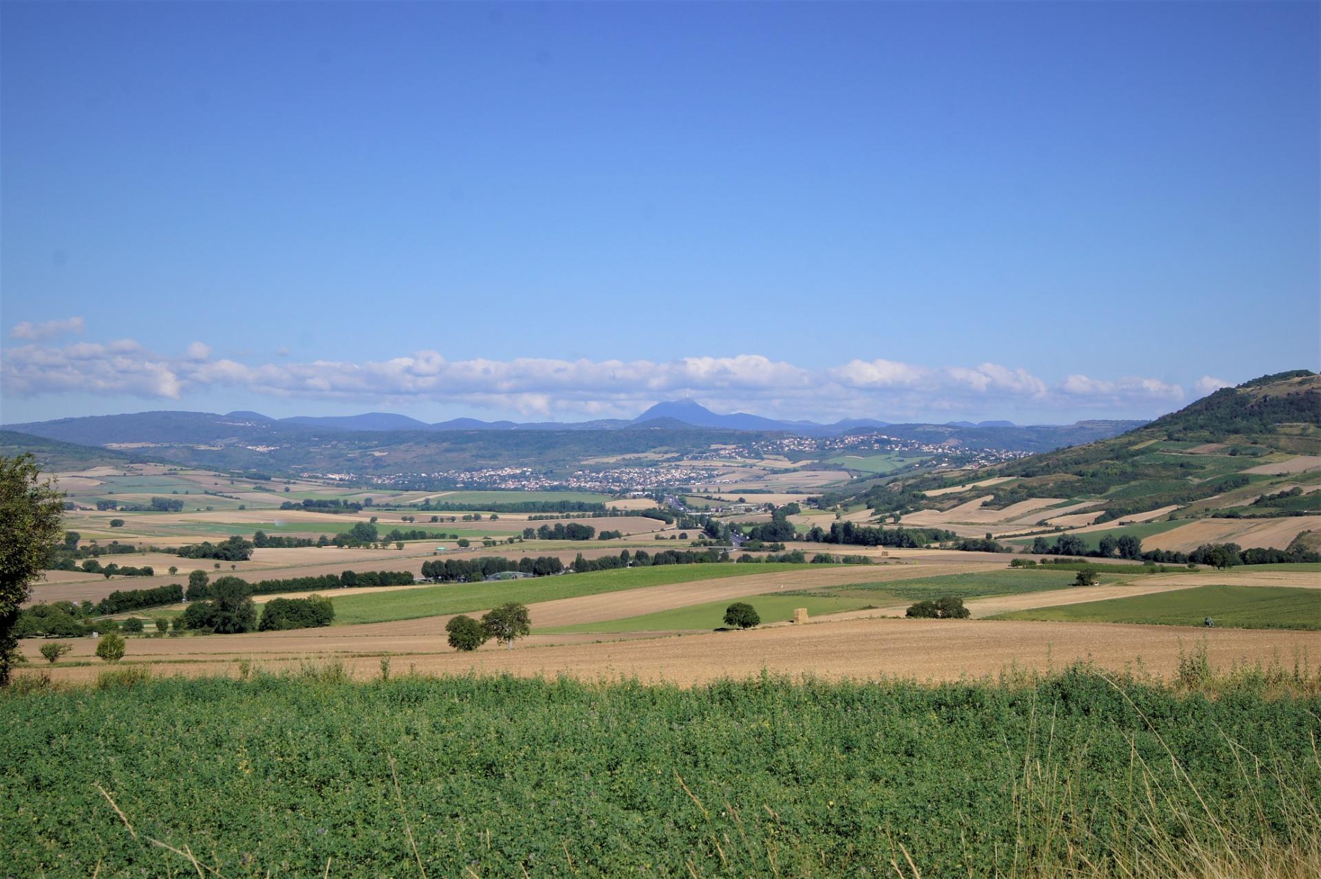 Paysage depuis Montpeyroux