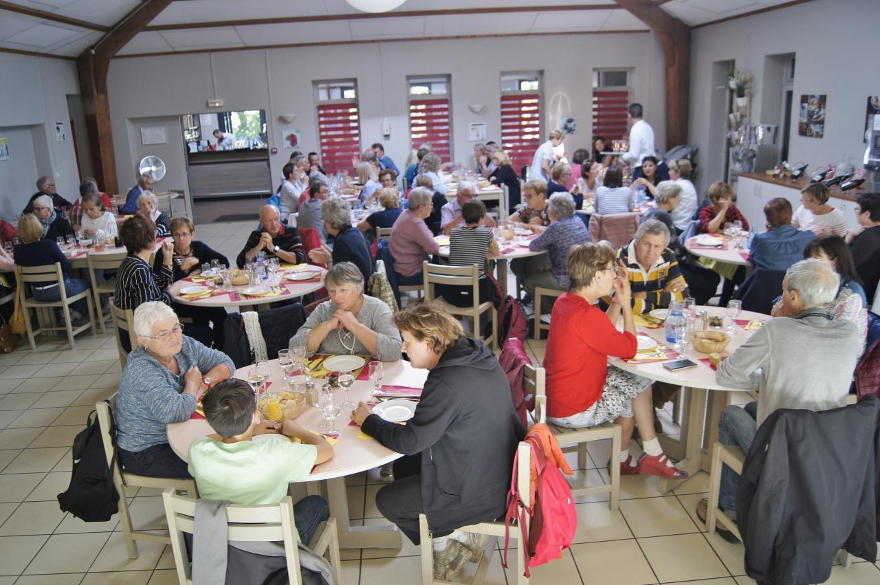Petit déjeuner a Amboise