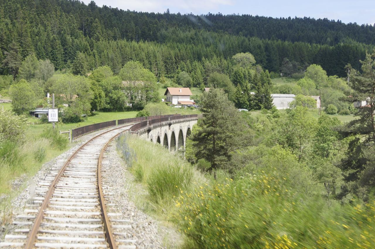 Train touristique Arlanc-LaChaise Dieu