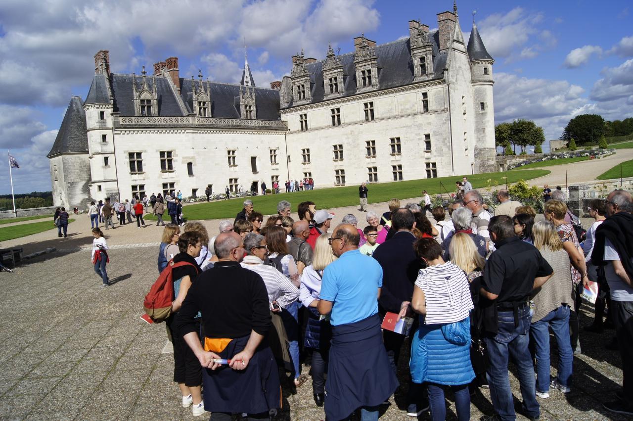 Visite du chateau d'Amboise