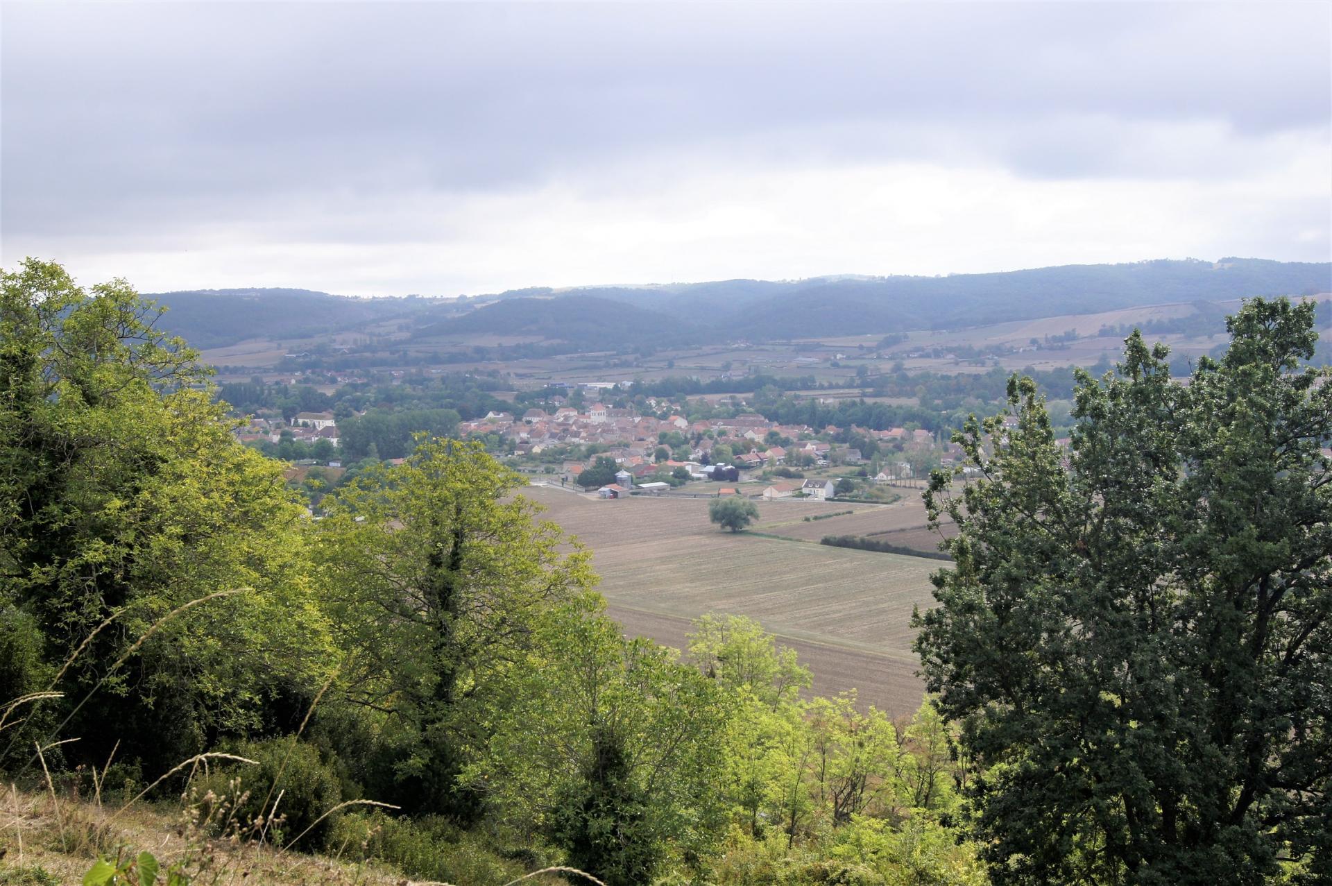 Vue sur la campagne d'Ebreuil